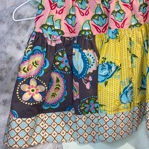 Matilda Jane girls size 8 skirt & tank outfit